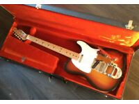 Fender Telecaster 1973 vintage with Factory fitted Bigsby