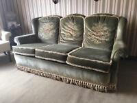 Vintage sofa & armchairs for sale - Fermanagh