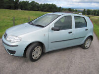Fiat Punto 1.2 8V 5 Door YEARS MOT ONLY £675 TO CLEAR