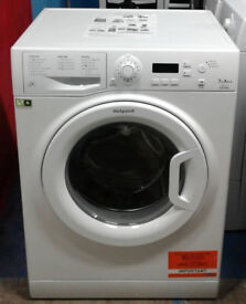 S644 white hotpoint 7kg 1400spin A++ rated washing machine comes with warranty can be delivered