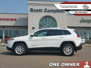 2015 Jeep Cherokee NORTH 4x4  - one owner - trade-in - sk tax pa