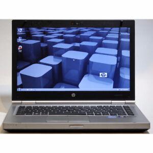 """HP 8460p Laptop i7 2.8GHz WiFi Webcam 8GB RAM 500GB 14"""" Windows7"""