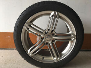 Audi S5/A5/S4/A5 Winter tires and Rims (Set of 4)