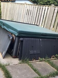 Need it gone moved working condition hot tub