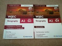 WJEC Geography AS & A2 - Excellent condition