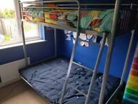 Kids Futon Bunk Bed