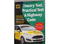 Brand New AA DVSA Theory Book