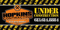 EXPERIENCED CONTRACTOR WANTED