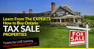 Ontario Tax Sale properties Loyalist Township