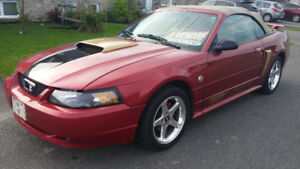 2004 Ford Mustang GT convertible special 40 ieme anniversaire