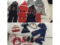 Bundle of baby boy's Christmas/ winter clothes 12-18 months