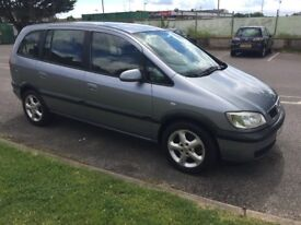 Vauxhall Zafira Active 16v 7 seat MPV New MOT. New clutch. Immaculate car