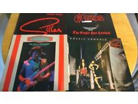 CLASSIC ROCK ALBUMS - SAXON - GILLAN- GARY MOORE - APRIL WINE - GIRLSCHOOL