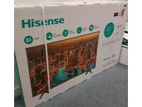 Hisense 4k streaming and 4k upscaling UHD 49inch SMART TV