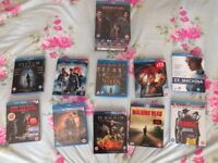 Collection of Blue Ray DVD's