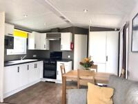 Static caravan for sale with full decking ! North east , crimdon Dene , pet friendly , sea views