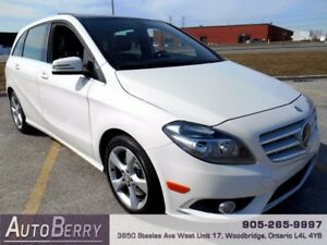 2013 Mercedes-Benz B-Class CERT ETEST ACCIDENT FREE ONE OWNER