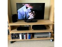 Ikea Malm TV/Blu-ray player/DVD player unit