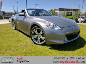 2010 Nissan 370Z Touring Roadster Black Top 6sp