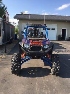 2012 RZR 900 low km's