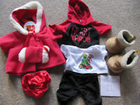 Bundle 11- set of BABW or equivalent bear clothes + boots-£10