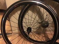 Felt TTR3 alloy aero wheelset