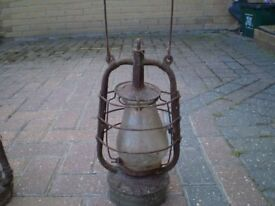 2 very old lamps found in shed clearance