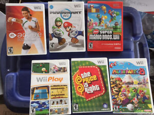 Wii Games for Sale! As a combo or individually!
