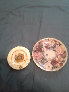 ASHTRAY, ROYAL VISIT TO CANADA--MAY1939, MUG, & PLATE!