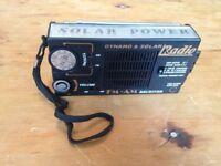 Portable Solar Radio