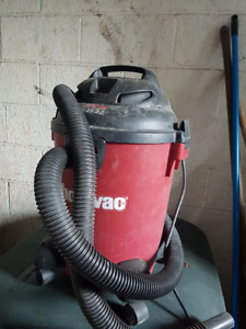 3 Vacuums for Sale (Shop Vac, MasterVac, & Hoover) - all working