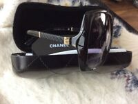 Chanel black sunglasses new in case