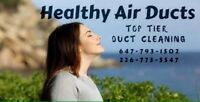 Air Ducts Cleaning with quality