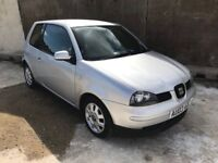 Seat Arosa S Auto 1.4, Only 52,000 Miles, 7 service Stamps, Alloys, 12 Month Mot, 3 Month Warranty