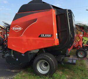 New Kuhn VB2290 Silage Baler 4' x 6'