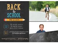 Back to School Mini Sessions - Only £49!!