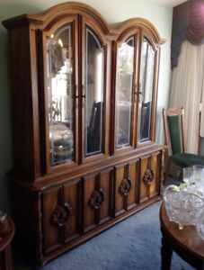 Mid Century Dining Room Set and Buffet