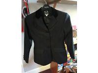 "Dublin Kids black 30"" show jacket"