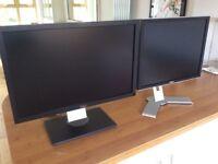 Dell monitors for sale (u2410 and 2007fpb)