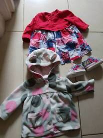 Bundle of baby girl clothes 3-6 mths