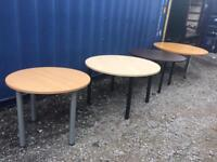 Quality office cafe conference tables (x4)