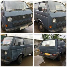 Vw Transporter 78ps Panel Van 1989 1915cc Petrol Complete Engine and box DG158124