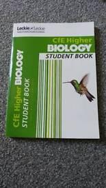 Leckie Leckie Higher Biology Student Book