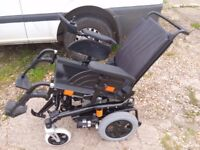 Invacare Spectra XTR with electric seat tilt