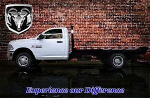 2013 Ram 3500 REGULAR CAB SLT 4X4 DUALLY FLAT DECK