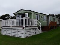 Holiday home 2012 willerby isis 35ft x 12ft sited on Bude holiday resort Cornwall
