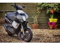 Lexmoto Diablo 125cc motorbike