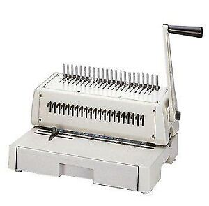 TCC 210PB Plastic comb binding machine