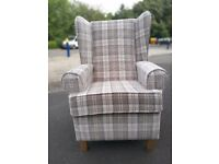 Brand New Wing Chair/Fireside Chair - 3 Colourways - Still Pakaged