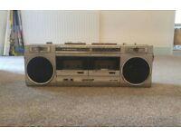 Retro Stereo Radio Cassette